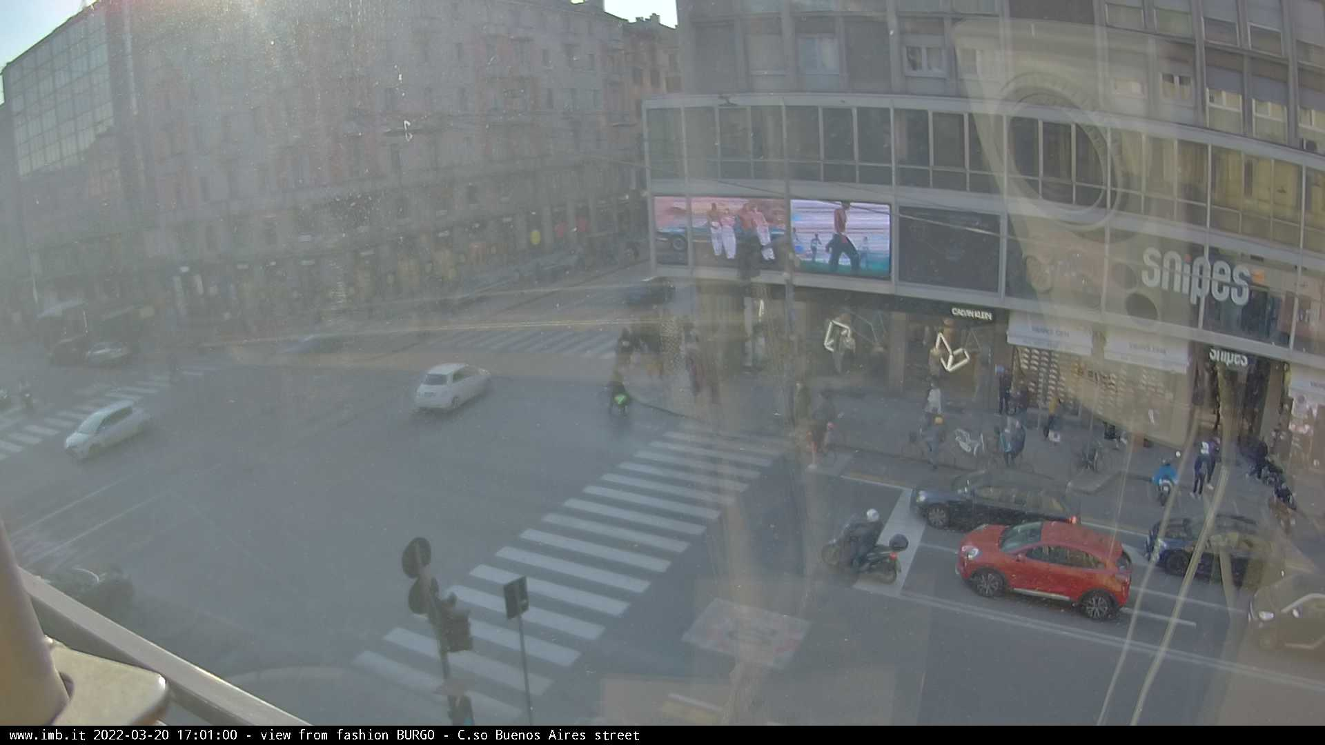 Webcam di Milano, Lombardia