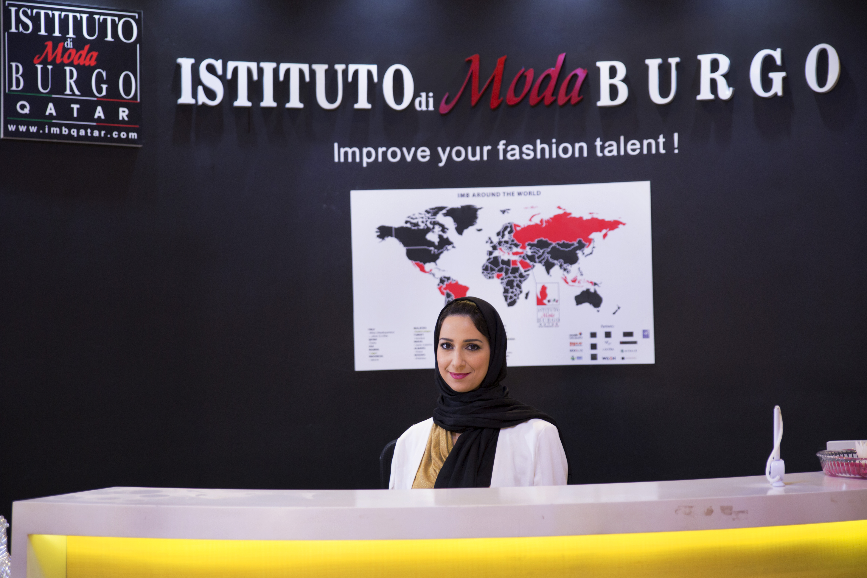 Reception Fashion school in Qatar