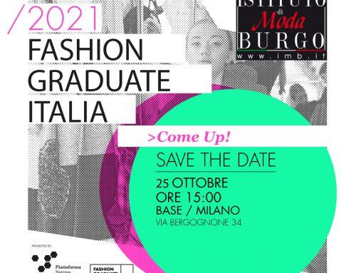Fashion Graduate Italia 2021